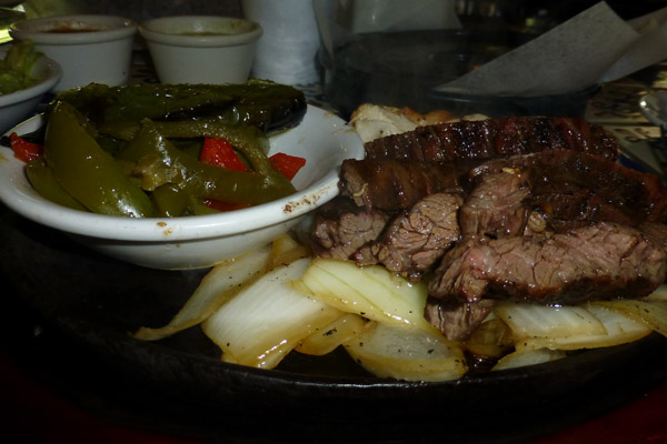 The original fajita's at Ninfa's