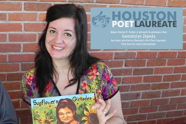 Learn poetry from Houston Poet Laureate Gwen Zepeda