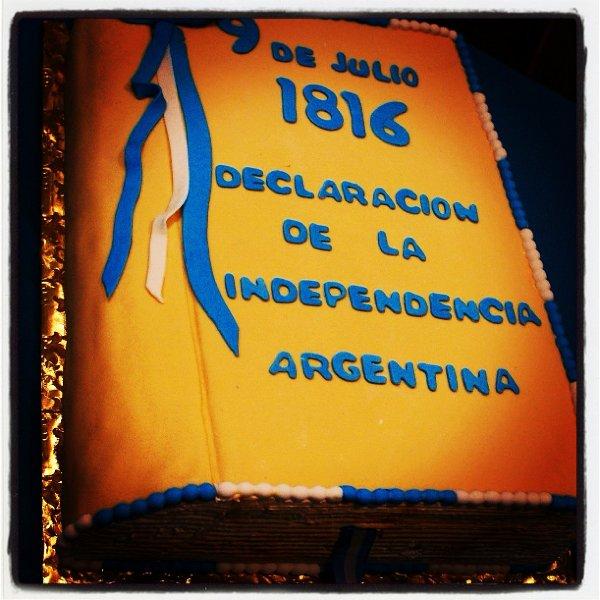 Argentina Independence Day Celebration (Video)