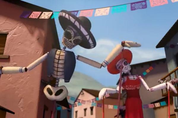 Día de los Muertos award-winning animated film