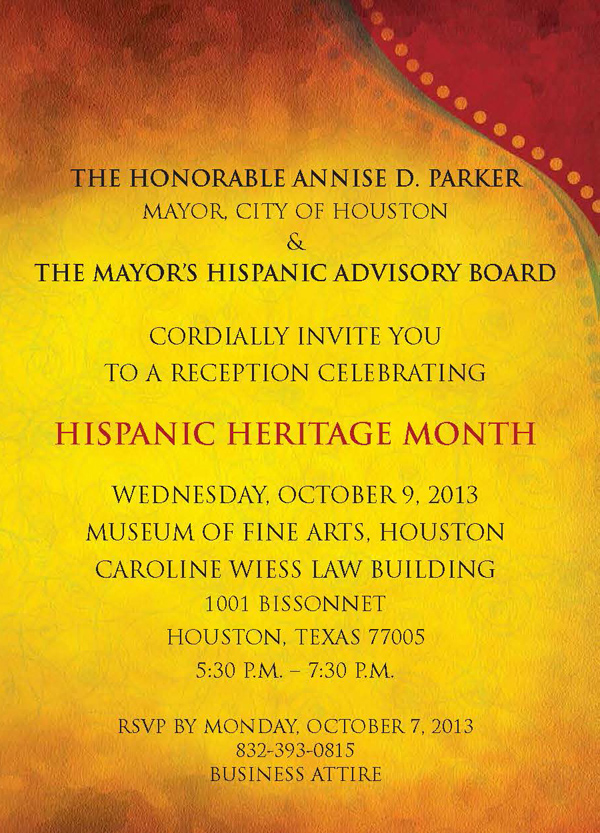 2013.10 Mayor's Hispanic Hertiage Award 2