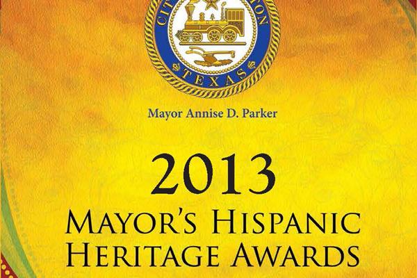 2013 Mayor's Hispanic Heritage Awards Reception — You Are Invited!