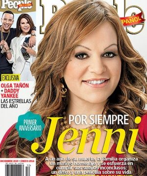 December issue People en Español features Jenni Rivera