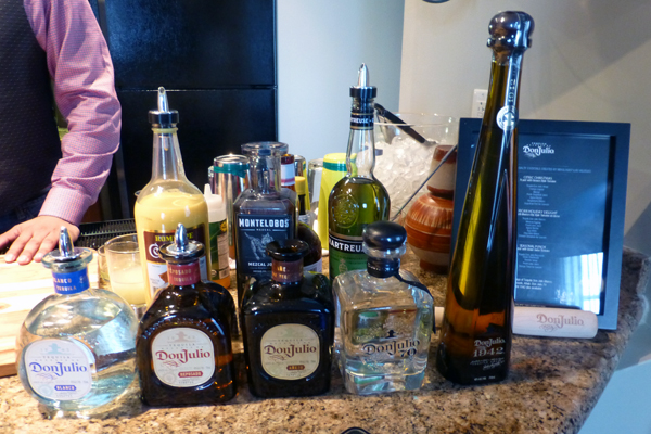 Tequila Tasting with Tequila Don Julio