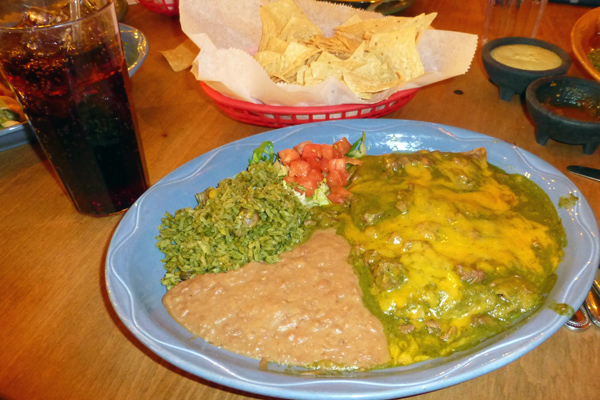 El Tiempo delivers on promise of great food