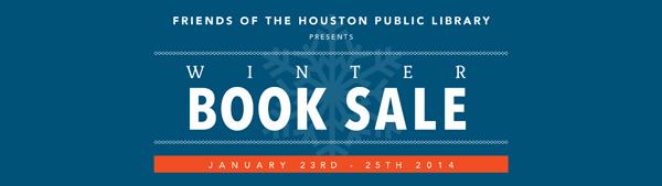 Community Book Sale, benefits Houston Public Library