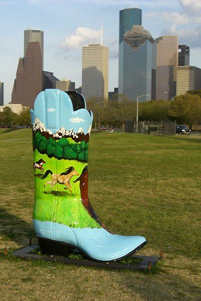 "Past Rodeos: photos from the 2007 Go Tejano ""Boots"" exhibit"