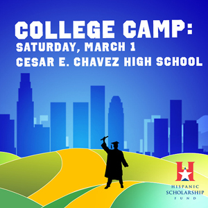 EVENT: College Camp Houston at Chavez High School; March 1, 2014