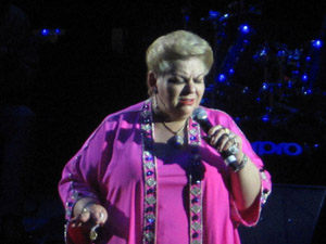EVENT: Paquita la del Barrio concert; March 22, 2014