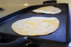 Yes, we heat our flour tortillas on a comal. How else would you do that?