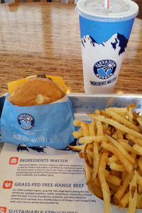 Elevation Burger -- a photo from my recent visit for a burger roundup.