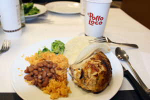 El Pollo Loco food tasting event, August 2014.