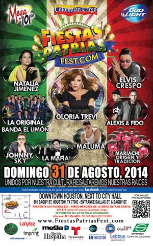 EVENT: Fiestas Patrias Fest 2014 — Sunday, August 31, 2014