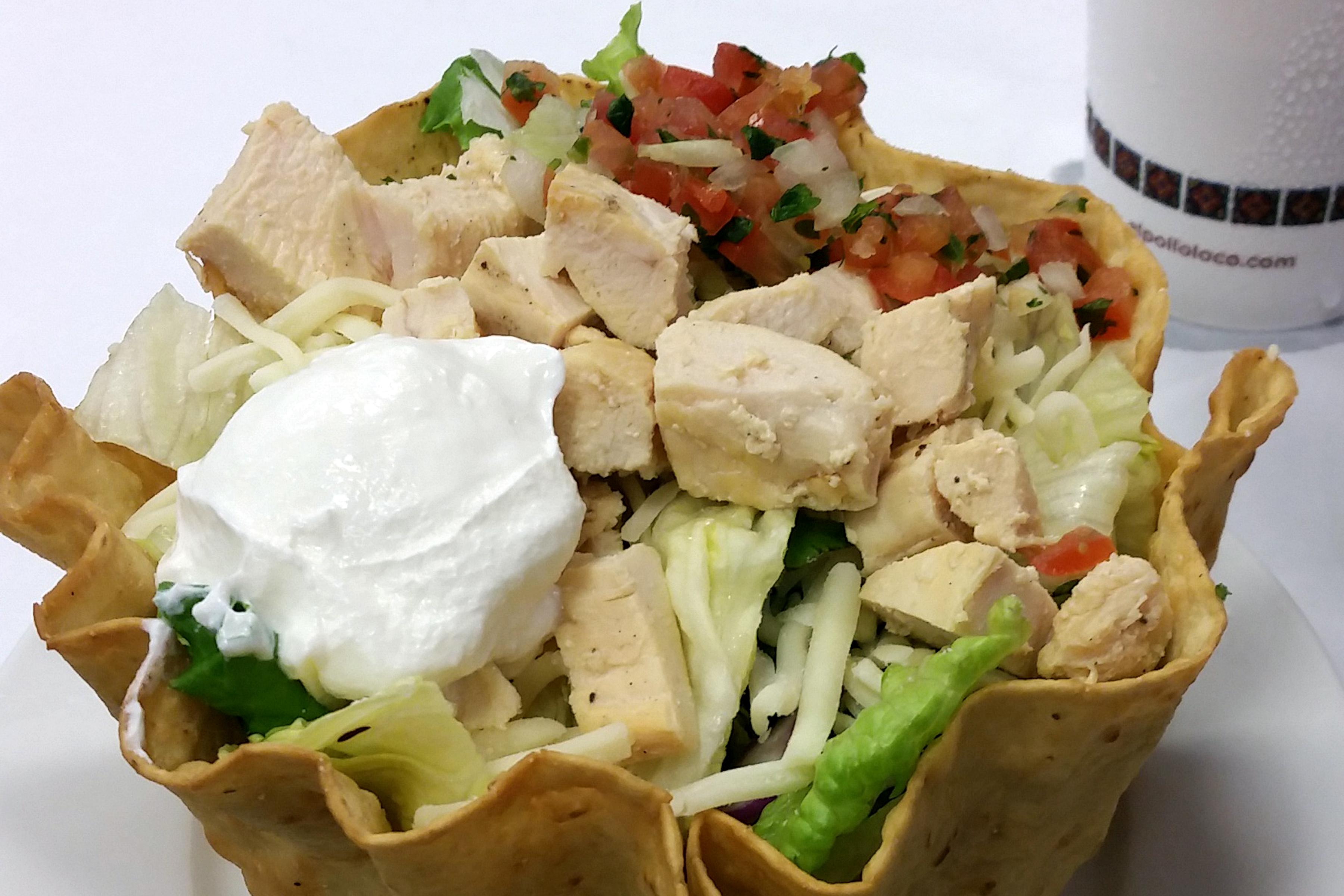 El Pollo Loco: they have salads too! #ad
