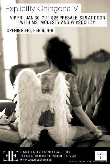 "Art Exhibit ""Explicitly Chingona"" on Friday, January 30, 2015"