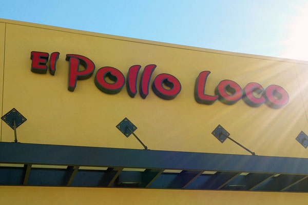 El Pollo Loco grand opening, January 2015.