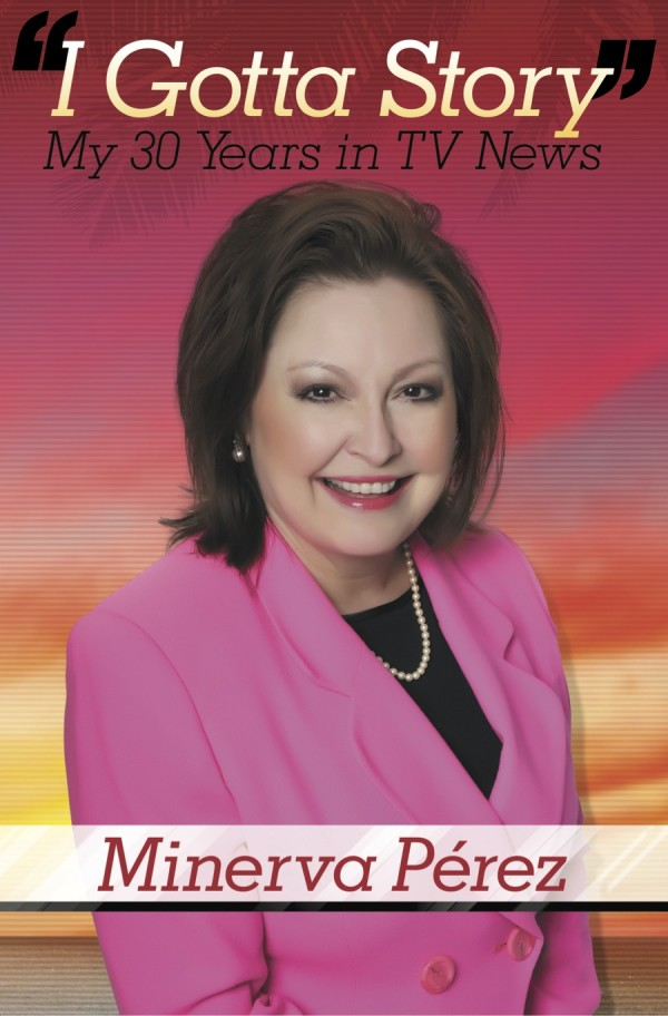 Minerva Perez book signing on Tuesday, February 24, 2015