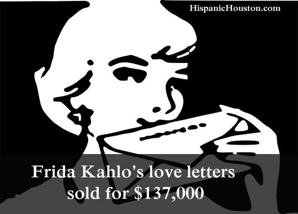 Frida Kahlo's love letters sold for $137,000
