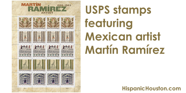 Have you seen the USPS stamps featuring Mexican artist Martín Ramírez?
