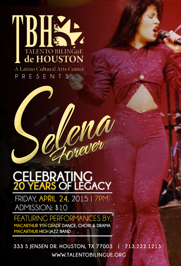 """""""Selena Forever"""" presented on Friday, April 24, 2015"""