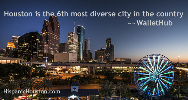 Houston isn't the most diverse city in the country, says WalletHub (more info at www.hispanichouston.com)