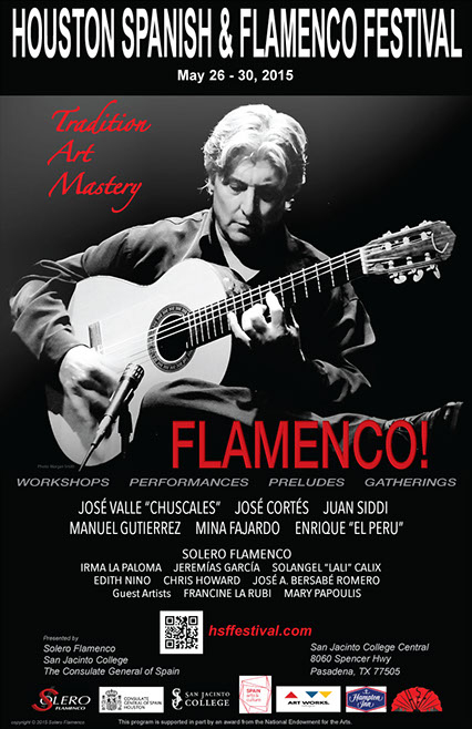 Houston Spanish & Flamenco Festival on May 26-30, 2015