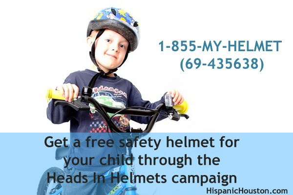 Get a free safety helmet for your child through the Heads In Helmets campaign