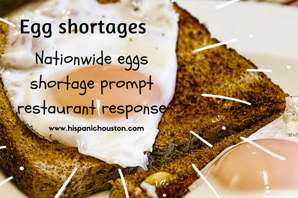 Effects of the egg shortage: limits on Whataburger breakfast tacos