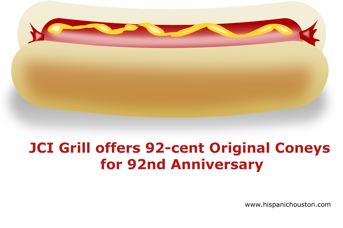 JCI Grill offers 92-cent Original Coneys for 92nd Anniversary