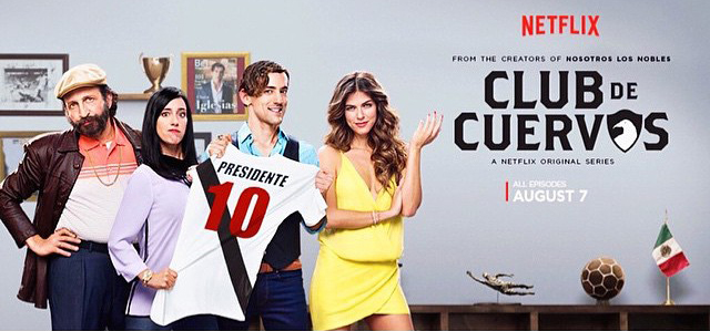 "Video Pick: Netflix's ""Club de Cuervos"" Trailer (premieres August 7th)"