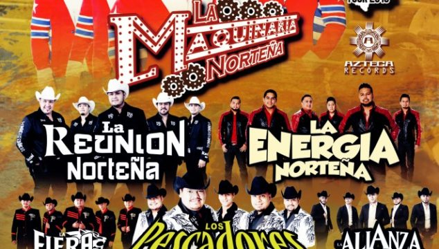 Vive Chihuahua Fest featuring La Maquinaria Norteña on Sunday June 28, 2015 (more info at www.hispanichouston.com)