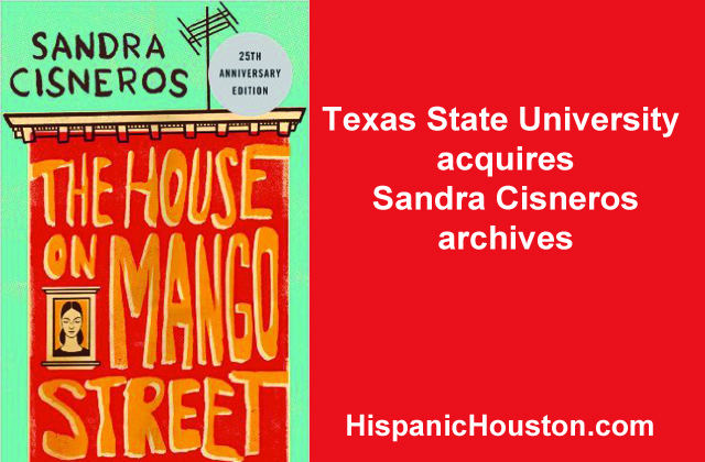 The Sandra Cisneros archives to live at Texas State University