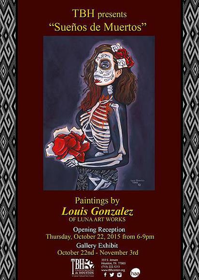 """Exhibit """"Sueños de Muertos"""" on view October 22 to November 3, 2015"""