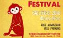 2016 Lunar New Year Festival on Saturday, February 6, 2016
