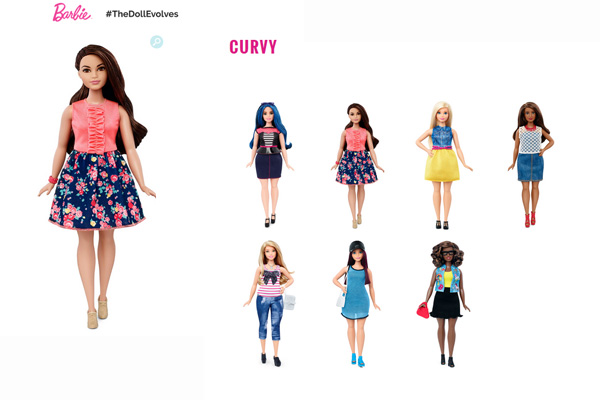 Ladies and Gentlemen, meet the new Barbie(s)!