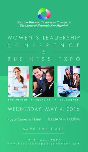 HHCC Women's Leadership Conference & Business Expo on Wednesday, May 4, 2016