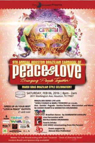 Houston Brazilian Carnaval 2016 on Saturday, February 6, 2016