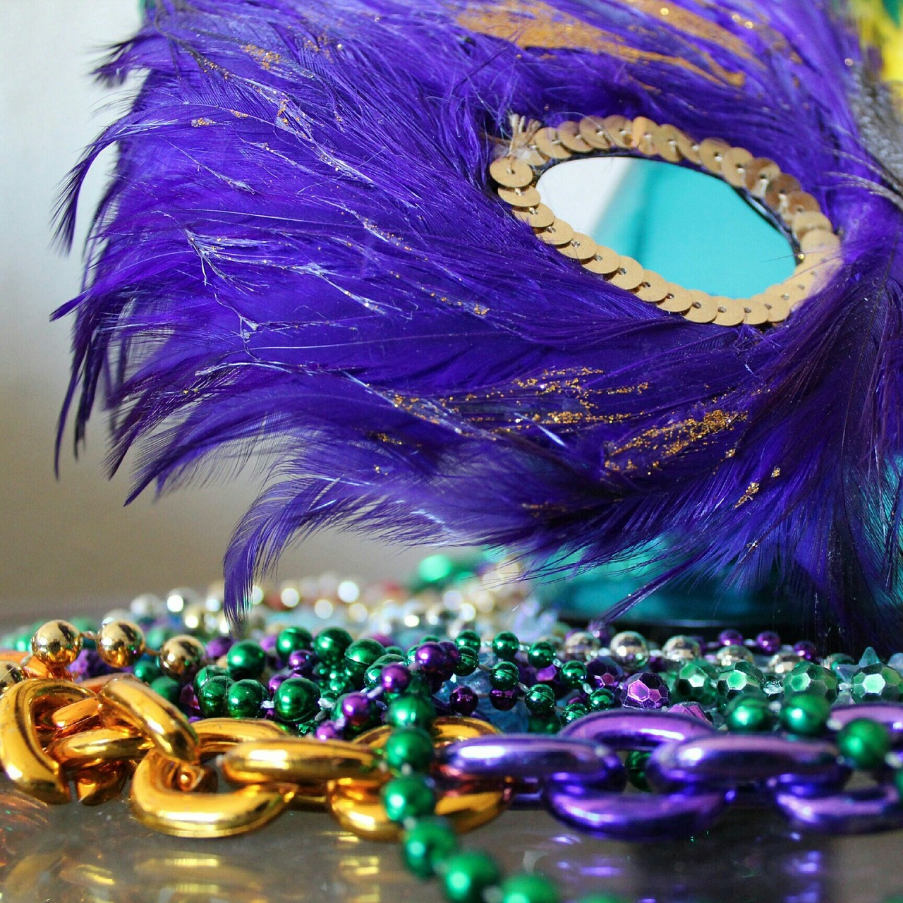 Funky Uptown Umbrella Brigade (Mardi Gras! Galveston) on Friday, January 29, 2016