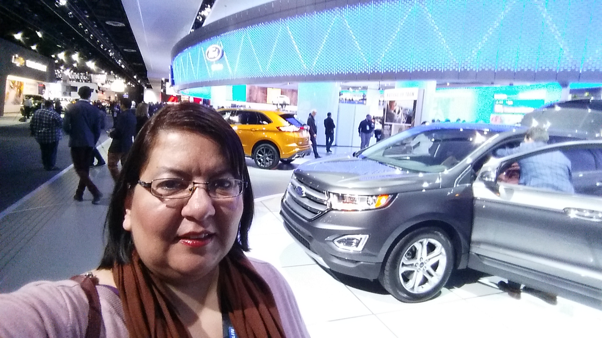 A trip to NAIAS, life-sized toys for the woman who knows nothing about cars