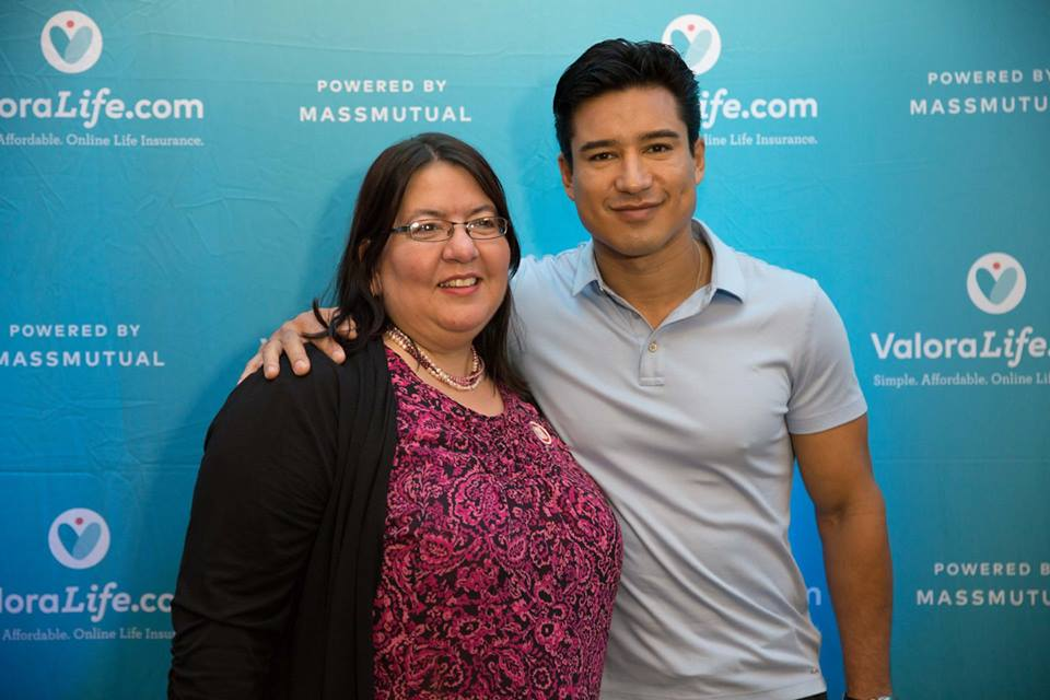 "PHOTO of me with Mario Lopez in ""SPONSORED: Meet ValoraLife, a new way to safeguard your family's financial future"" (hispanichouston.com)"
