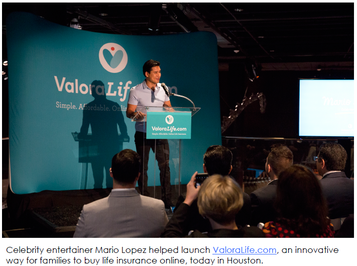 "Mario Lopez photo re ""SPONSORED: Meet ValoraLife, a new way to safeguard your family's financial future"" (hispanichouston.com)"