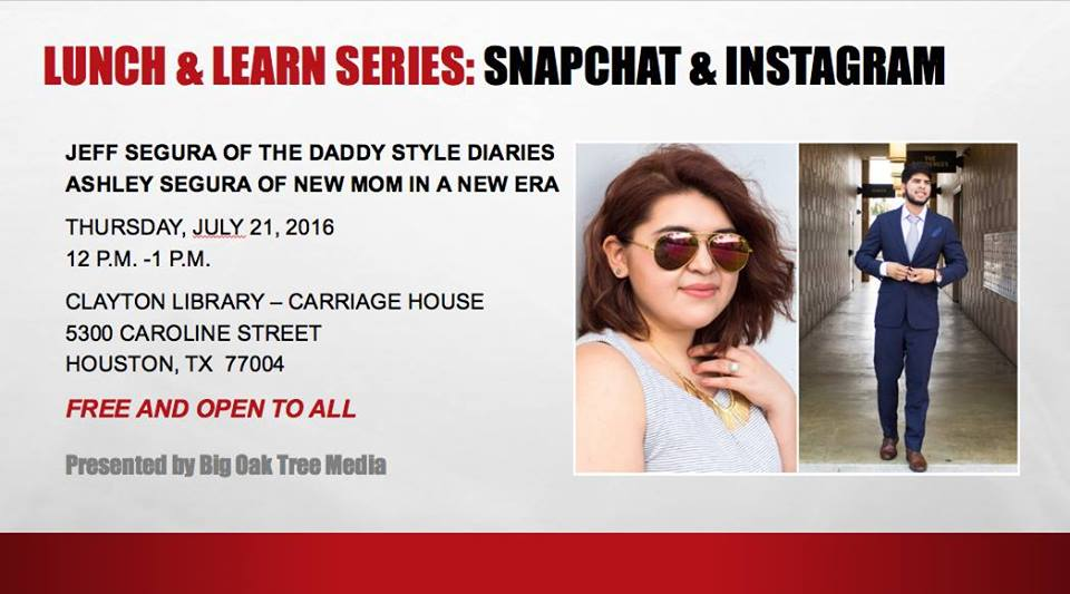 Big Oak Tree Media Lunch & Learn on Thursday, July 21, 2016 (hispanichouston.com)