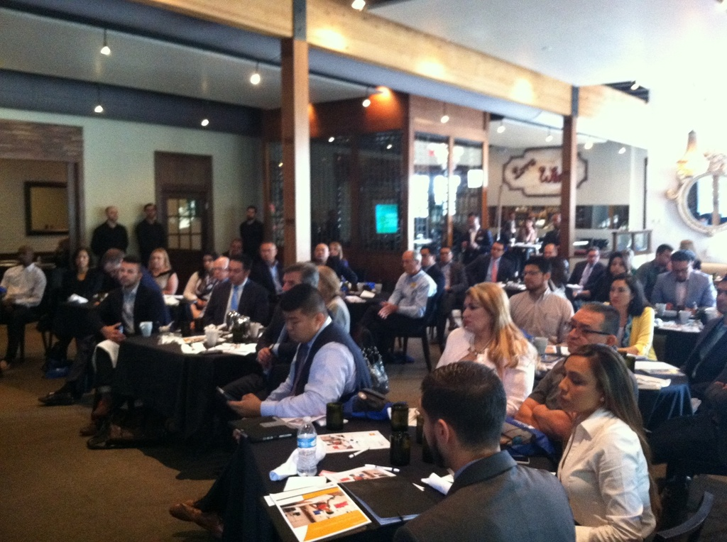 """Attendee photo from recap from """"Su Negocio"""" Financial Education Event for Latino Business Owners (hispanichouston.com)"""