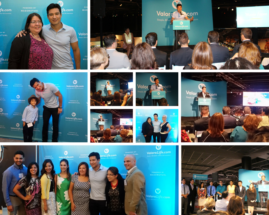 """Photo collage re """"SPONSORED: Meet ValoraLife, a new way to safeguard your family's financial future"""" (hispanichouston.com)"""
