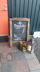 "Welcome (from ""Don Julio Farm to Shaker Event,"" hispanichouston.com)"