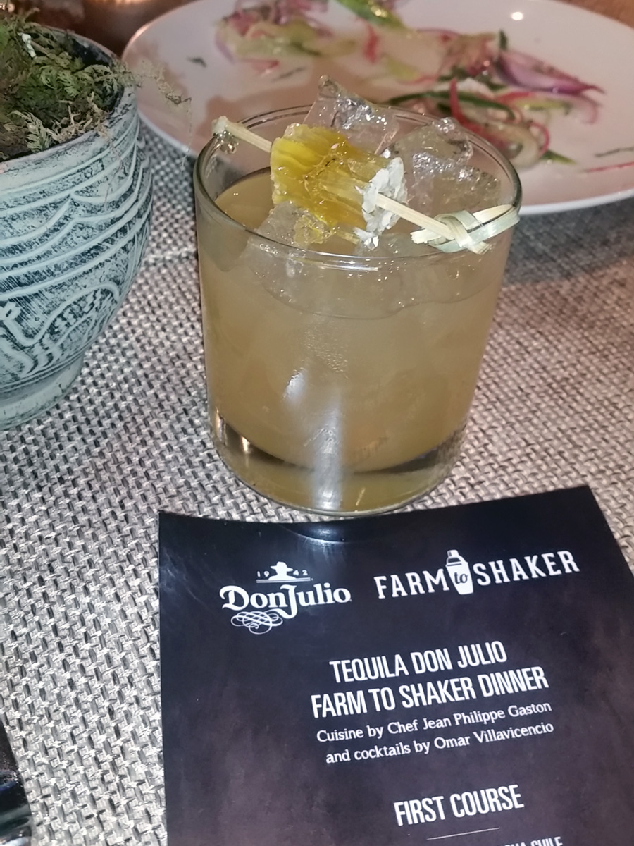 "Dinner begins 3 (from ""Don Julio Farm to Shaker Event,"" hispanichouston.com)"