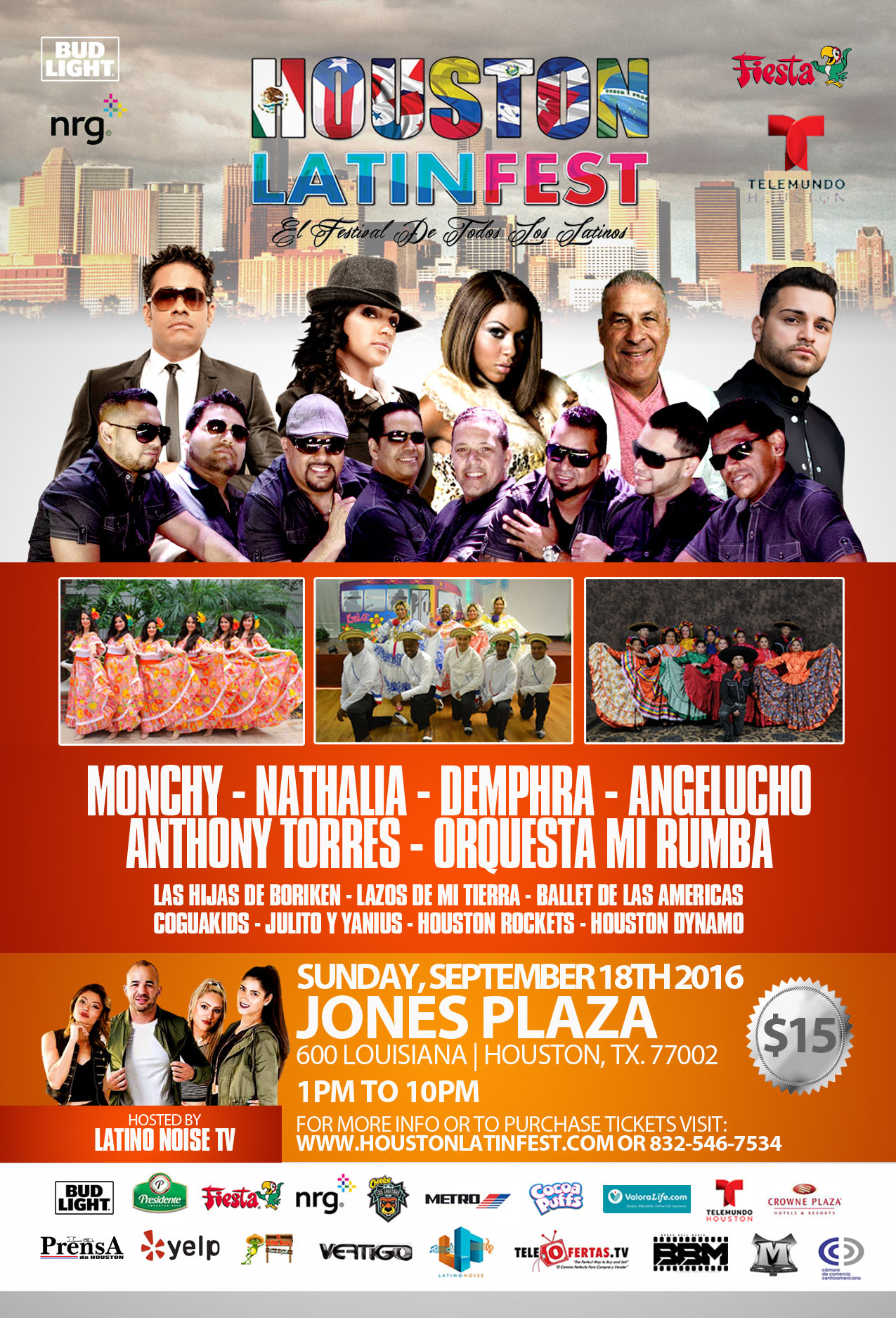 Houston Latin Fest on Sunday, September 18, 2016 (hispanichouston.com)