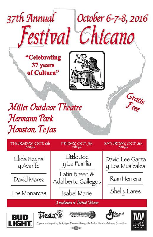 37th Annual Festival Chicano on October 6-8, 2016 (hispanichouston.com)