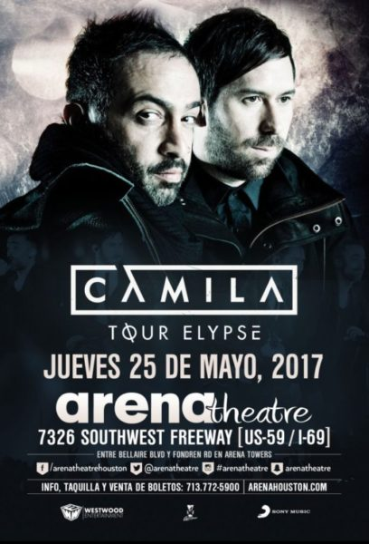 Camila in concert on Thursday, May 25, 2017