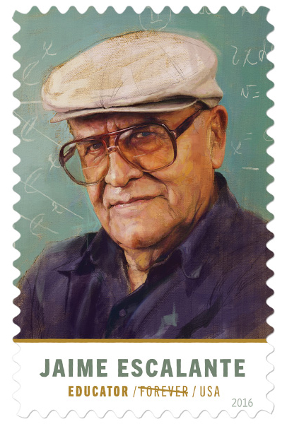 Jaime Escalante stamp